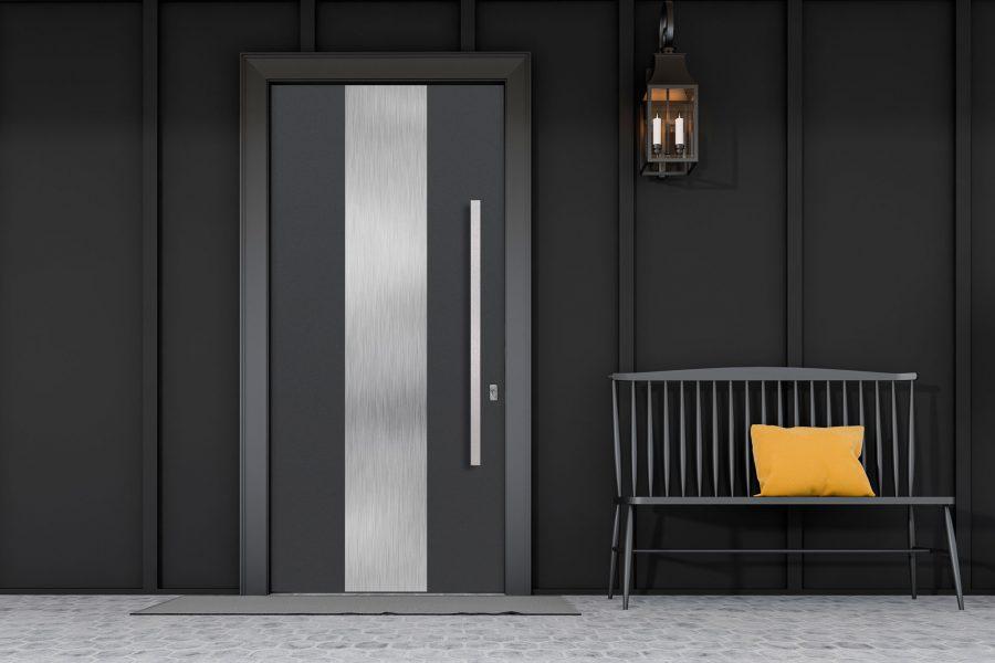 Aluminum Clad Front Modern Doors - Modern Custom Cabintes 86